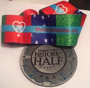 Marine Corps Half marathon Medal