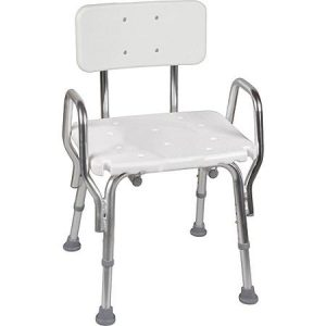 white chair to place in shower
