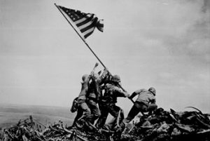 Raising of the American Flag Iwo Jima